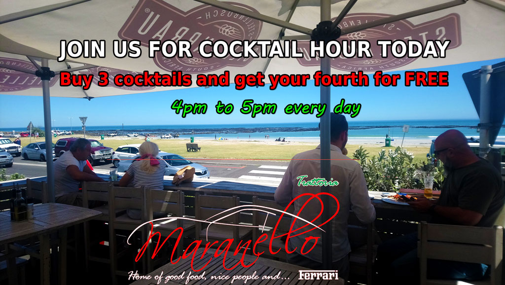 Join us for cocktail hour today!